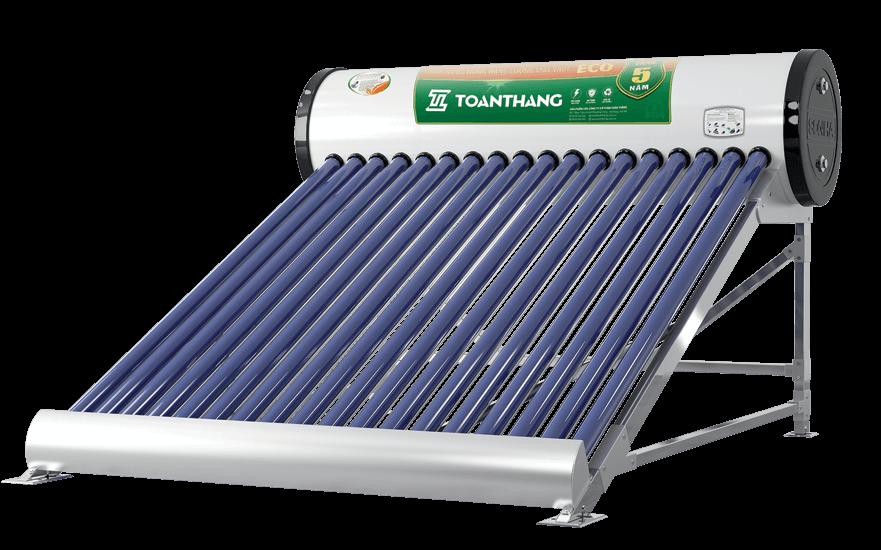 Hướng dẫn lắp đặt máy nước nóng năng lượng mặt trời Toàn Thắng