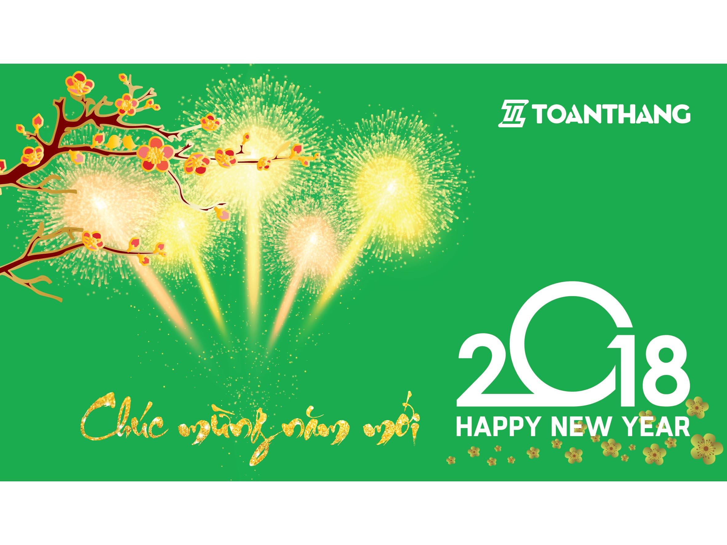 Công ty Toàn Thắng thông báo lịch nghỉ tết dương lịch 2018