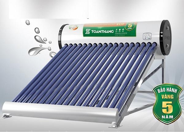 Lý do nên sử dụng máy nước nóng năng lượng mặt trời