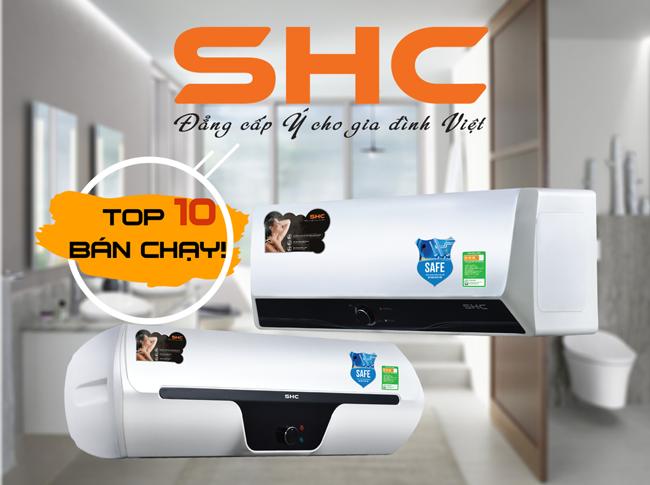 Máy nước nóng SHC – An toàn tuyệt đối