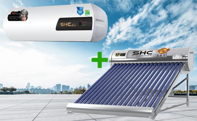Sử dụng máy nước nóng năng lượng mặt trời hiệu quả