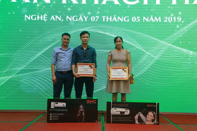 Ra mắt bồn tự hoại thế hệ mới trong chương trình tri ân khách hàng Nghệ An